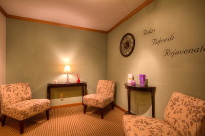 Better Body Massage Waiting Room
